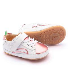 Sapato-para-Bebes---Linha-Originals---Skidy---White---Rose-Gold---Tip-Toey-Joey