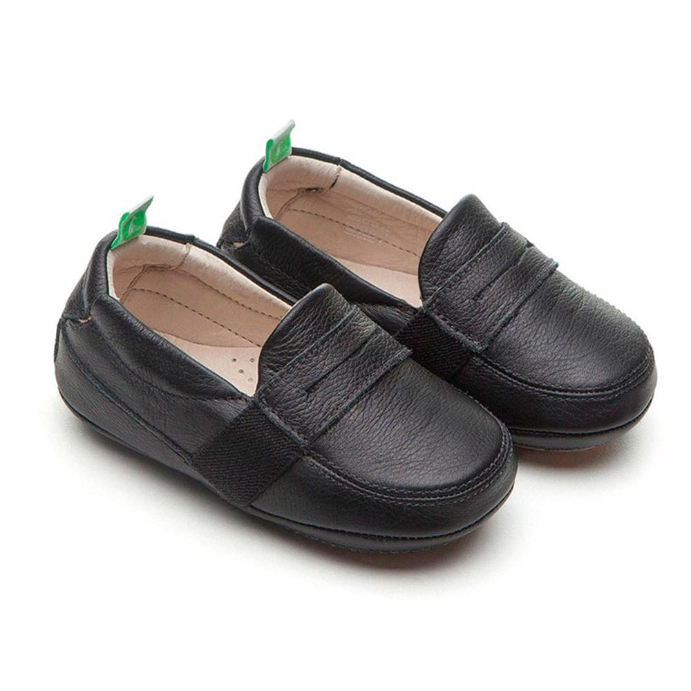 Sapato para Bebês - Linha Originals - Sharpy - Black - Tip Toey Joey