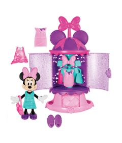 Figura-e-Acessorios---Disney---Minnie---Closet-Estilo-Divertido---Fisher-Price