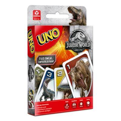 Jogo-de-Cartas---UNO---Jurassic-World---Copag