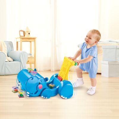 Empurrador---Papa-Brinquedos---Hipopotamo---Fisher-Price
