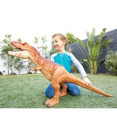 Figura-Articulada---105-Cm---Jurassic-World---Tyrannosaurus-Rex---Mattel