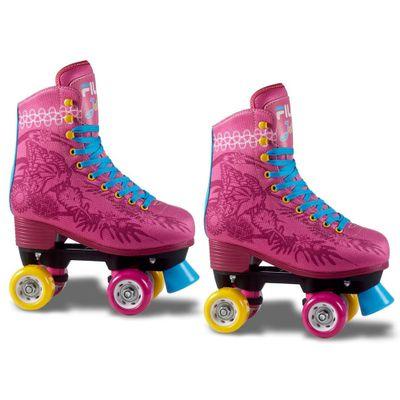 Patins-Classico---4-Rodas---Quad-Juliet---Pink---Fila