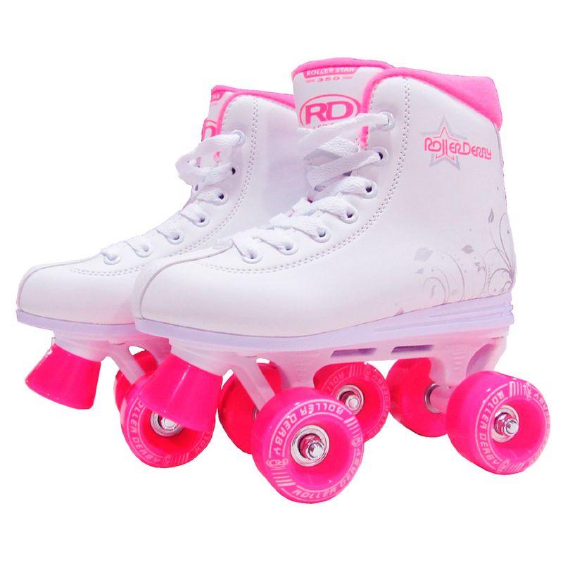 b191d4d43 Patins Clássico - 4 Rodas - Quad Juliet - Pink - Tam 31 - Fila - Ri Happy  Brinquedos