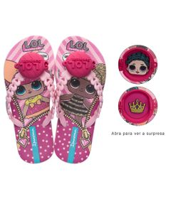 Chinelo-Infantil---Ipanema---LOL-Surprise---Rosa---Tam-23-24