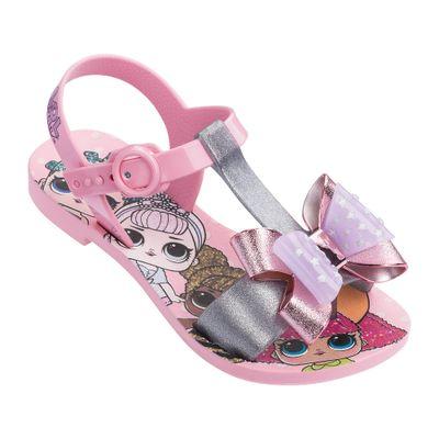 Sandalia-Infantil---LOL-Surprise---Laco---Rosa-e-Prata---Grendene---Tam-25