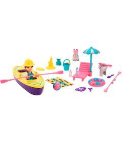 Boneca-Polly-Pocket-e-Acessorios---Veiculo-Aquaticos---Lila-Passeio-de-Caiaque---Mattel