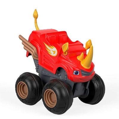Carrinho-Blaze---Turbo-Slam-Go---Acelerador-Blaze-Rinoceronte---Fisher-Price