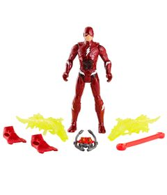 Figura-Articulada---15-Cm---DC-Comics---Liga-da-Justica---The-Flash---Power-Slingers-Underwater---Mattel