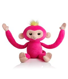 Pelucia-Interativa---Huglings---Monkey---Pink---Candide