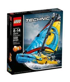 LEGO-Technic---Racing-Yacht---42074---Frente