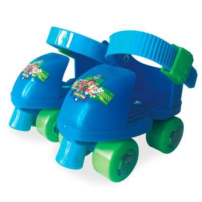 Patins-Infantil---Patrulha-Canina---Azul-e-Verde---Dican