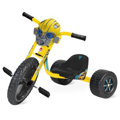 Triciclo Velotrol - Transformers -  Bumblebee - Bandeirante