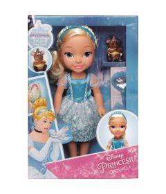 Boneca---30-cm---Minha-Primeira-Princesa-Real---Cinderela-com-Pet-e-Acessorios---Mimo_Frente