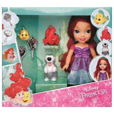 boneca-30-cm-minha-primeira-princesa-real-ariel-com-pet-e-acessorios-luxo-mimo-6514_Frente