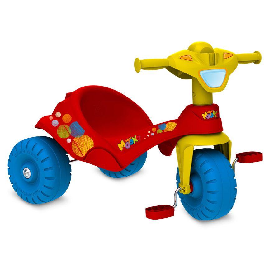 Triciclo-Motoka-Passeio---Vermelha---Bandeirante