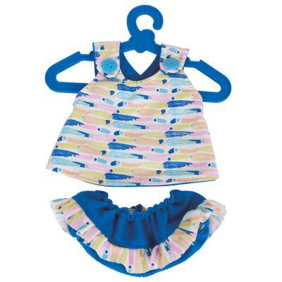 Acessorios-de-Boneca---Baby-Alive---Conjunto-de-Bata-e-Calcinha---Azul-Estampado---Cotiplas