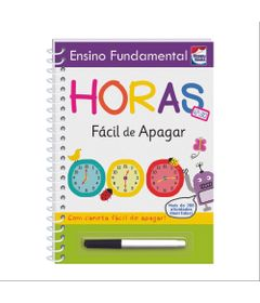 Livro---Ensino-Fundamental---Facil-de-Apagar---Horas---Happy-Books