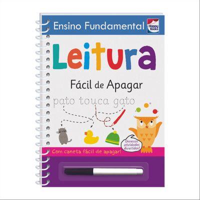 Livro---Ensino-Fundamental---Facil-de-Apagar---Leitura---Happy-Books