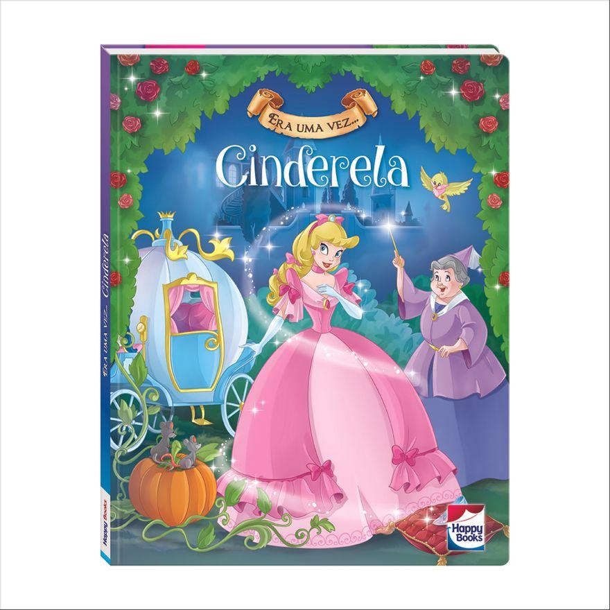 Livro---Era-Uma-Vez---Disney---Princesas---Cinderela---Happy-Books