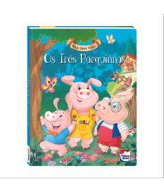 Livro---Era-Uma-Vez---Disney---Os-Tres-Porquinhos---Happy-Books