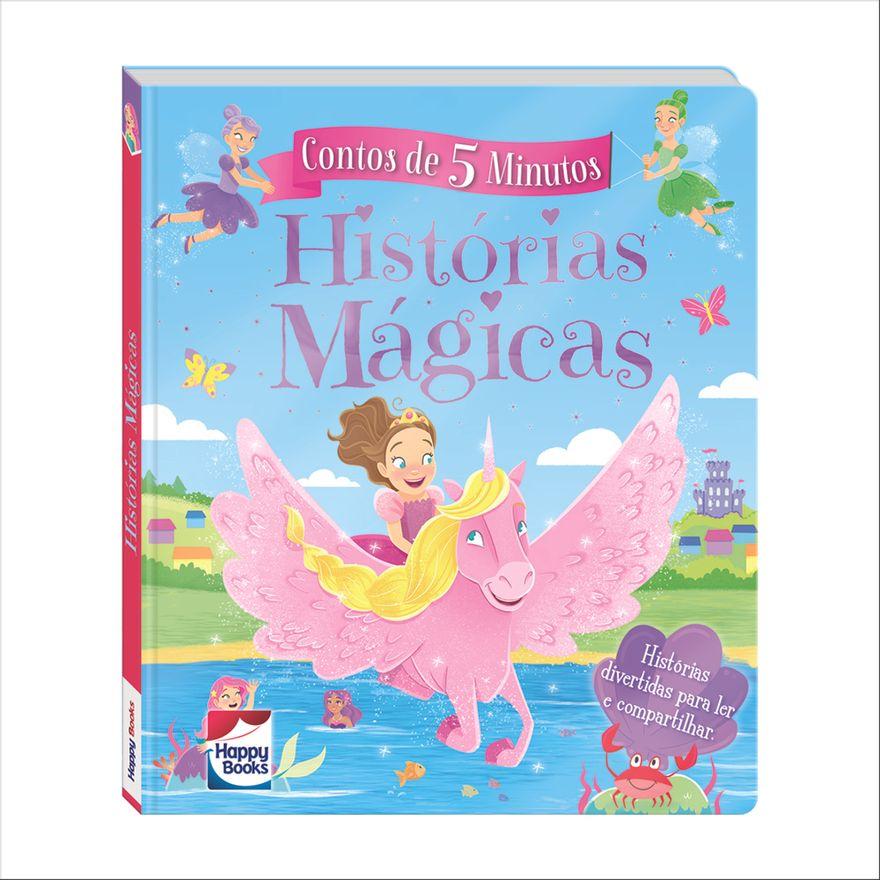 Livro---Contos-de-5-Minutos---Historias-Magicas---Happy-Books