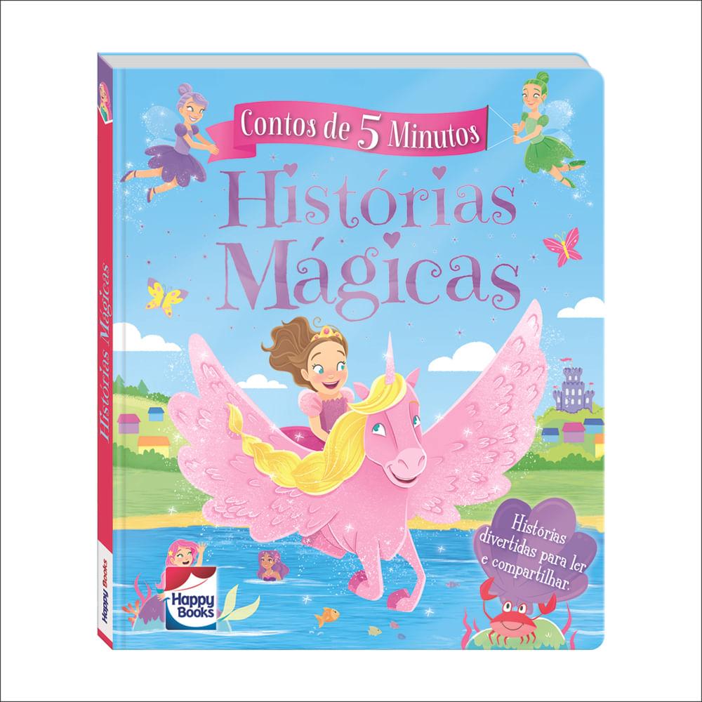 Livro - Contos de 5 Minutos - Histórias Mágicas - Happy Books