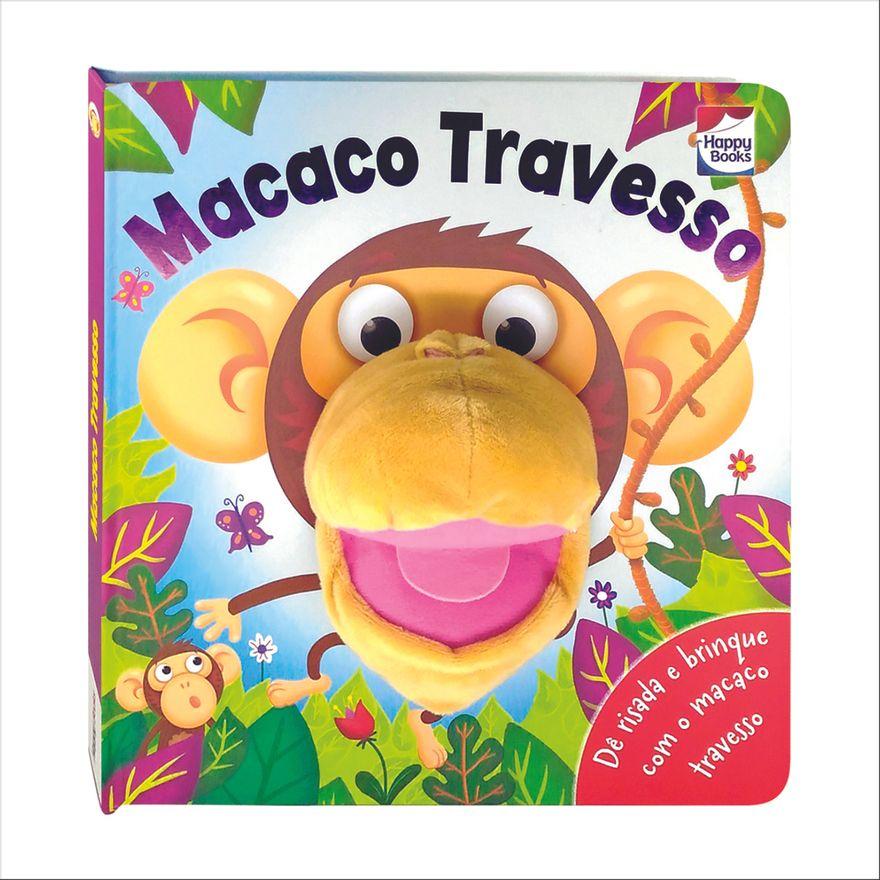 Livro---Diversao-com-Fantoches---Macaco-Travesso---Happy-Books