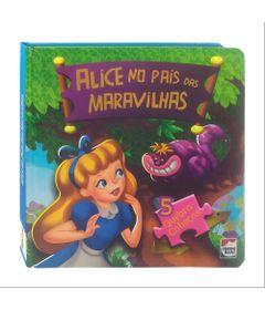 Livro---Classico-em-Quebra-Cabecas---Disney---Alice-no-Pais-das-Maravilhas---Happy-Books
