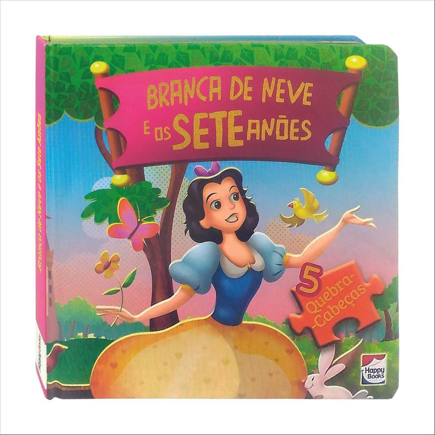 Livro---Classicos-em-Quebra-Cabecas---Disney---Princesas---Branca-de-neve---Happy-Books