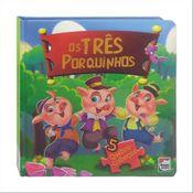 Livro---Classicos-em-Quebra-Cabecas---Disney---Os-tres-porquinhos---Happy-Books