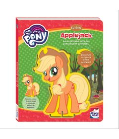 Livro---My-Little-Pony---Eu-Sou---Applejack---Happy-Books