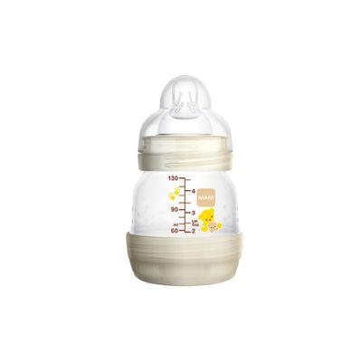 Mamadeira-e-Bico---First-Bottle---130-Ml---Ursinhos---MAM