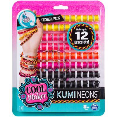Conjunto-de-Acessorios---Kumi-Kreator---Refil---Neon---Sunny
