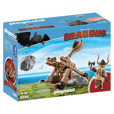Playmobil---Como-Treinar-Seu-Dragao---Bocao-com-Catapulta---9245---Sunny