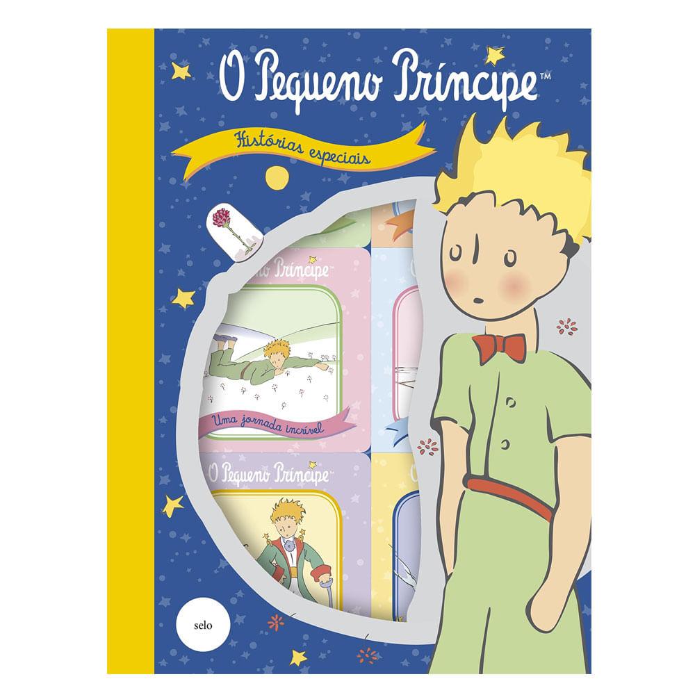 Conjunto com 6 Livrinhos - O Pequeno Príncipe - Ciranda Cultural