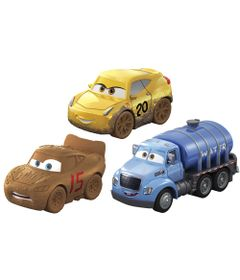 Blister-com-3-Veiculos-Mini-Racers-Disney-Cars---Pack-3---Mattel