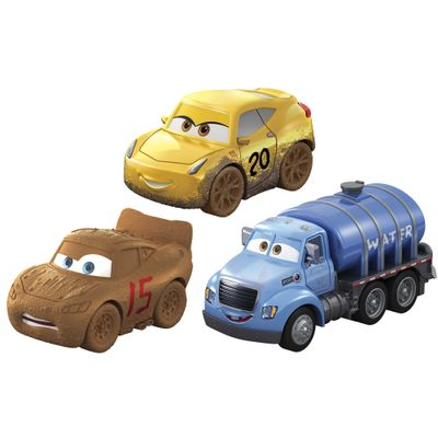 Blister-com-3-Veiculos-Mini-Racers-Disney-Cars---Pack-3---Mattel