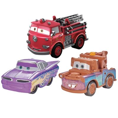 Blister-com-3-Veiculos-Mini-Racers-Disney-Cars---Pack-4---Mattel