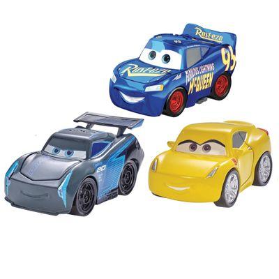 Blister-com-3-Veiculos-Mini-Racers-Disney-Cars---Pack-5---Mattel