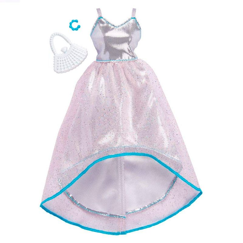 448ef574754 Roupinha e Acessórios - Barbie - Vestido com Glitter - Mattel - Ri Happy  Brinquedos