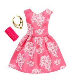 Roupinha-e-Acessorios---Barbie---Vestido-Rosa---Mattel
