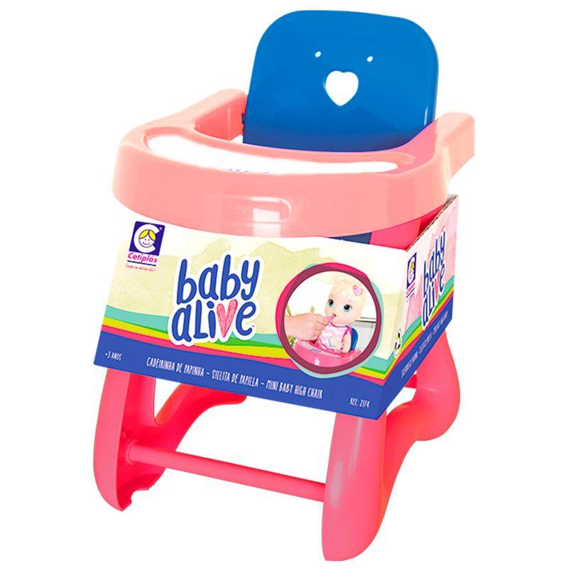 f7667fb5c0 Acessórios para Bonecas - Baby Alive - Cadeirão Pequeno - Rosa e ...