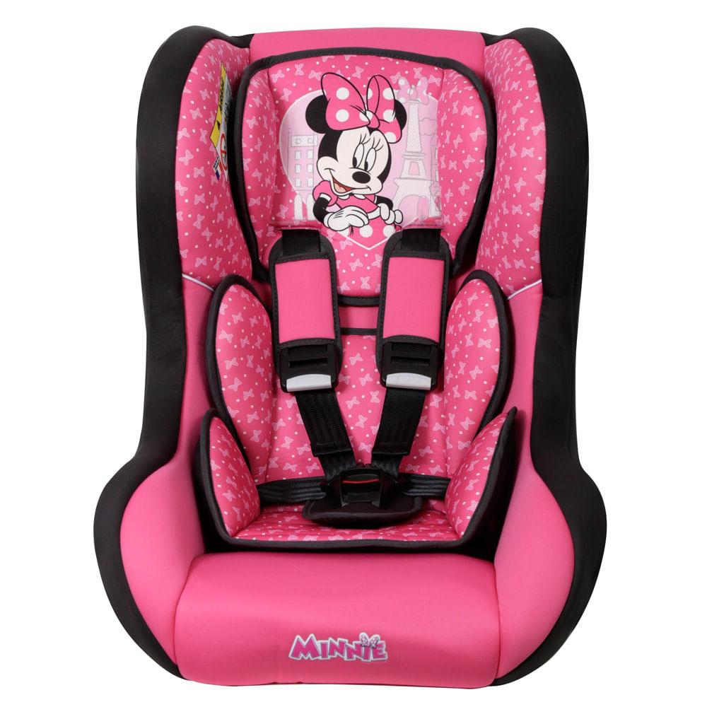 Cadeira Para Auto - De 0 a 25 Kg - Disney - Trio Minnie - Team Tex