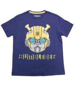 Camiseta-Manga-Curta---Transformers---Bumblebee---Robot---Azul---G