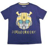 Camiseta-Manga-Curta---Transformers---Bumblebee---Robot---Azul---M