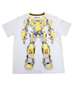 Camiseta-Manga-Curta---Transformers---Bumblebee---Robot---Branca---G
