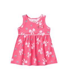 Vestido---Meia-Malha---Lacinhos-Com-Perolas---Rosa-Camelia---Brandili---P