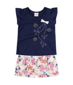 Conjunto---Meia-Malha---Flores-Com-Strass---Azul-Marinho---Brandili---P