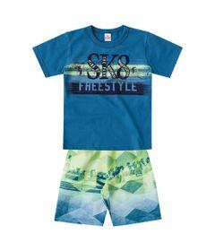 Conjunto---Meia-Malha---Skate-Estilo---Azul-Petroleo---Brandili---4